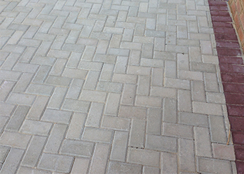 Bevel paving grey